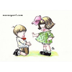 Be my girlfriend!