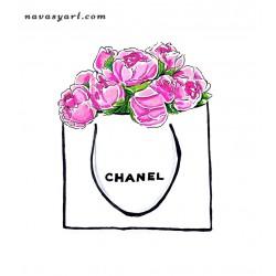 Chanel peonies