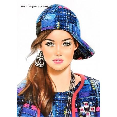 Chanel cap