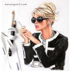 Coffee time with Chanel